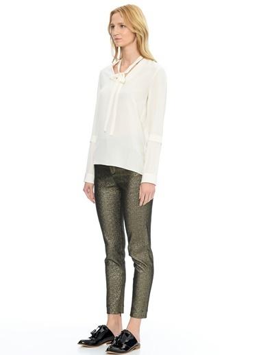 Agnona Gömlek Beyaz